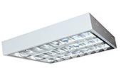 Đèn LED DUHAL | Máng đèn LED phản quang gắn nổi 3x9W DUHAL LDD 320