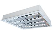 Đèn LED DUHAL | Máng đèn LED phản quang gắn âm trần 4x9W DUHAL LDD 420