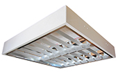 Đèn LED DUHAL | Máng đèn LED phản quang gắn trần 2x9W DUHAL LDD 6220