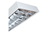 Đèn LED DUHAL | Máng đèn LED phản quang gắn âm trần 2x18W DUHAL LDD 240