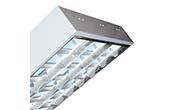 Đèn LED DUHAL | Máng đèn LED phản quang gắn nổi 3x18W DUHAL LDD 340