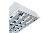 Đèn LED DUHAL | Máng đèn LED phản quang gắn âm trần 4x18W DUHAL LDD 440