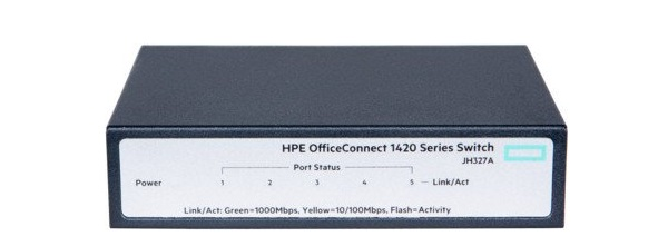 HP 1420 OfficeConnect 5-port Gigabit Switch JH327A