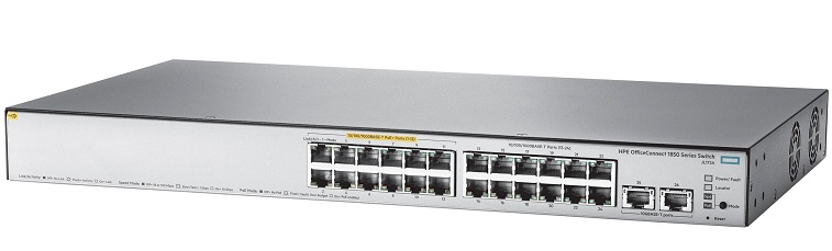 HP OfficeConnect 1850 24G 2XGT PoE+ Switch JL172A