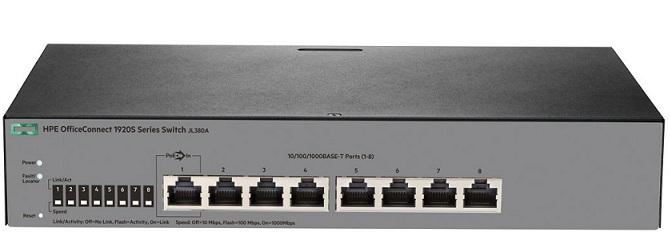 HP 1920S 8G Switch JL380A