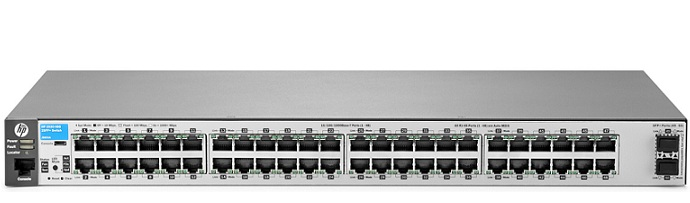 HP 2530 48G 2SFP+ Switch J9855A