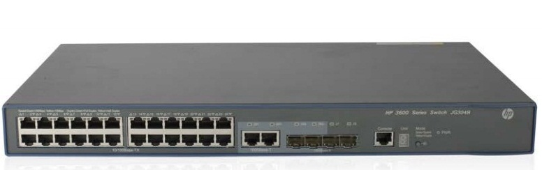 HP FlexNetwork 3600-24 v2 SI Switch JG304B