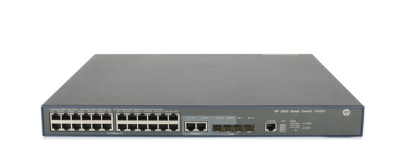 HP FlexNetwork 3600-24 PoE+ v2 SI Switch JG306C