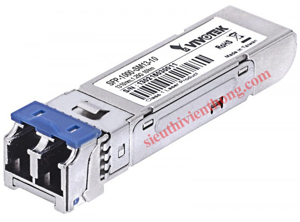 Gigabit mini GBIC Single Mode 1310nm SFP Transceiver Vivotek SFP-1000-SM13-10