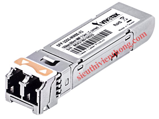 10 Gigabit Mini GBIC Multi Mode 850nm SFP Transceiver Vivotek SFP-2000-MM85-X3