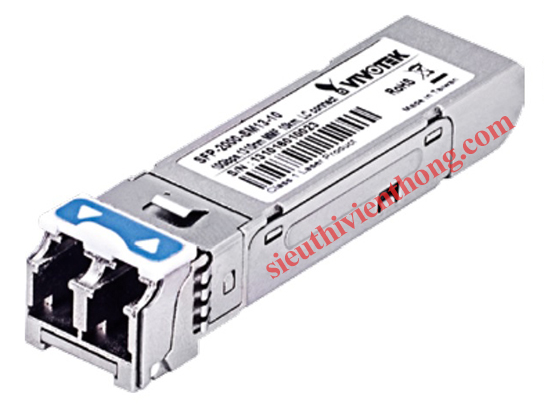 10 Gigabit Mini GBIC Multi Mode 1310nm SFP Transceiver Vivotek SFP-2000-SM13-10