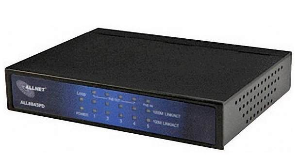5-port 10/100/1000M PoE Ethernet Switch ALLNET ALL8845PD