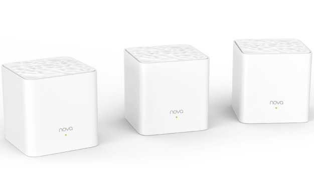 AC1200 Router for Whole-home Mesh WiFi TENDA Nova MW3 (3 pack)