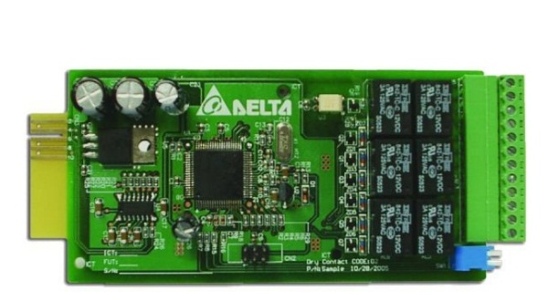 Relay I/O Card F for UPS DELTA N 6k-10k