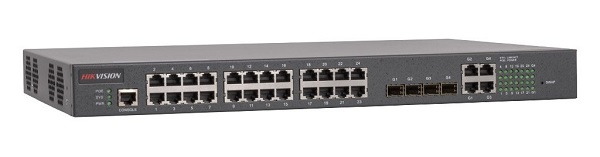24-port 100M Ethernet PoE Switch HIKVISION DS-3D2228P