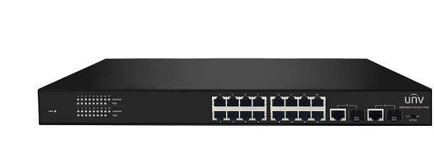16-Port 10/100Mbps Ethernet PoE Switch UNV NSW2000-16T2GC-POE