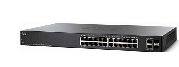 24-port 10/100 Smart Switch CISCO SF220-24-K9-EU