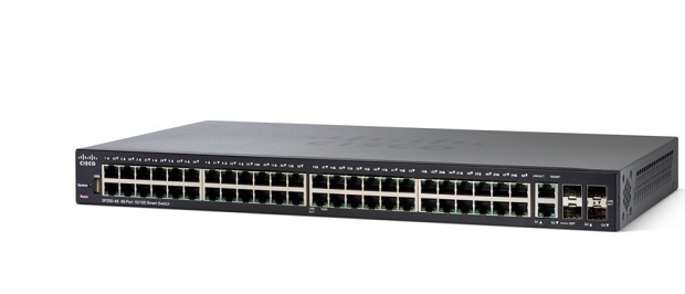 48-port 10/100 Smart Switch CISCO SF250-48-K9-EU