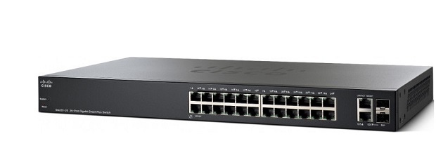 26-Port Gigabit PoE Smart Switch CISCO SG220-26P-K9-EU