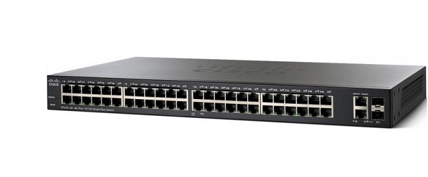 50-Port Gigabit PoE Smart Switch CISCO SG220-50P-K9-EU
