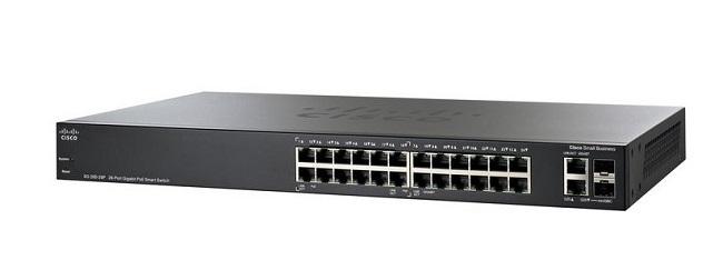 26-Port Gigabit PoE Smart Switch CISCO SG250-26P-K9-EU