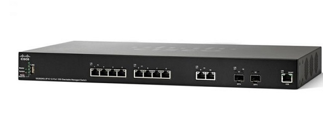 12-Port 10GBase-T Stackable Managed Switch CISCO SG350XG-2F10-K9-EU