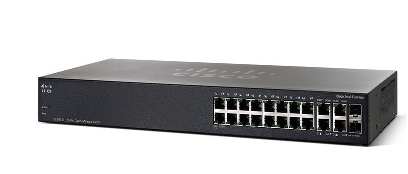 20-Port Gigabit Managed Switch CISCO SG350-20-K9-EU