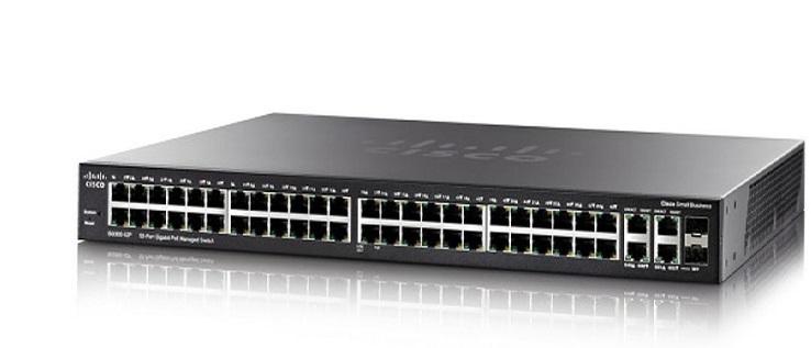 52-Port Gigabit Managed Switch CISCO SG350-52-K9-EU
