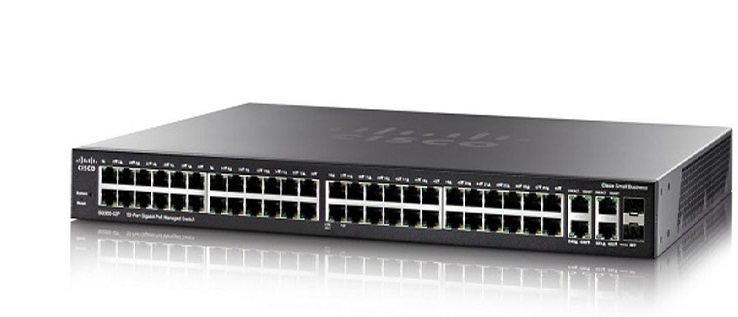 52-Port Gigabit Max-PoE Managed Switch CISCO SG350-52MP-K9-EU