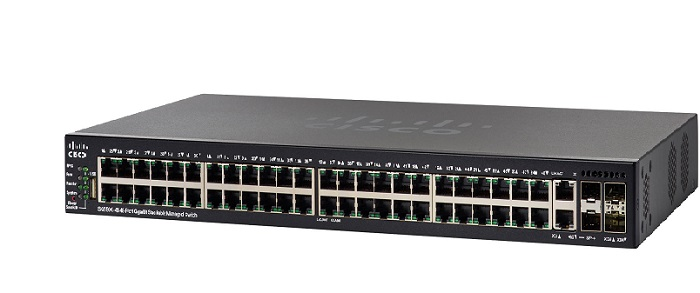 48-Port Gigabit Stackable Managed Switch CISCO SG550X-48-K9-EU