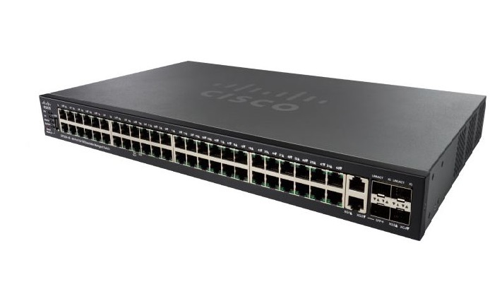 48-Port 10GBase-T Stackable Managed Switch CISCO SG550XG-48T-K9-UK