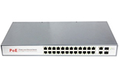 Switch PoE NETONE | 24-Port 10/100Mbps PoE Switch NETONE NO-AT-242F