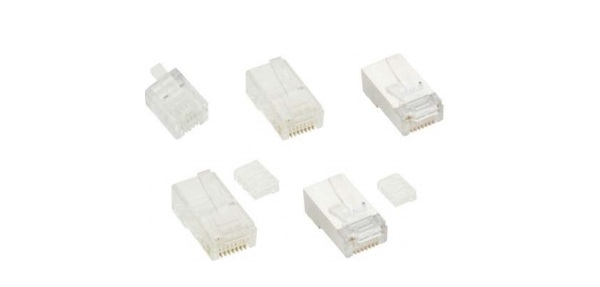 Modular Plug Shielded VIVANCO CAT6A VCR6A1
