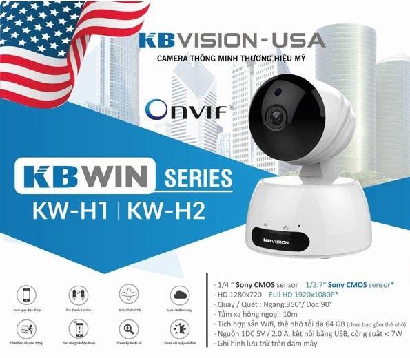 Camera IP hồng ngoại không dây 2.0 Megapixel KBVISION KBWIN KW-H2