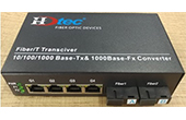Switch PoE HDTEC | Converter 2-Port Quang AB 1G 4-Port PoE 1G Switch PoE HDTEC