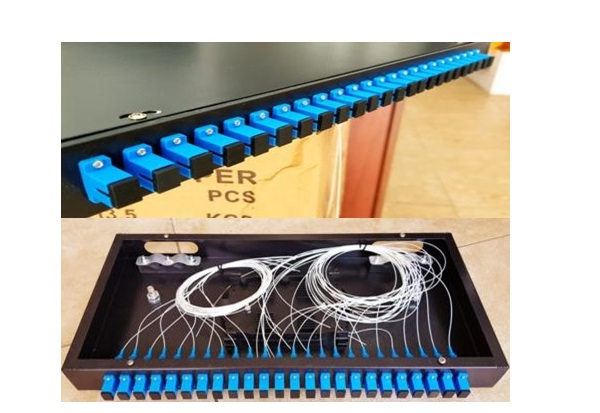 Patch Panel Rack Mount 18 cổng (Full SC/UPC)