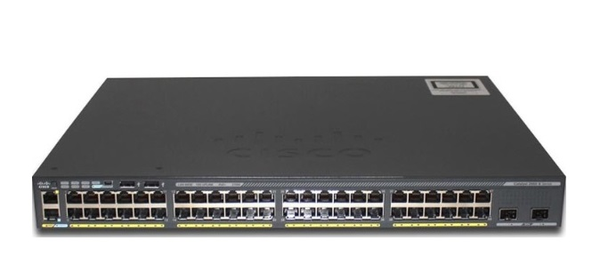 48-Port GigE Switch Cisco Catalyst WS-C2960X-48LPD-L