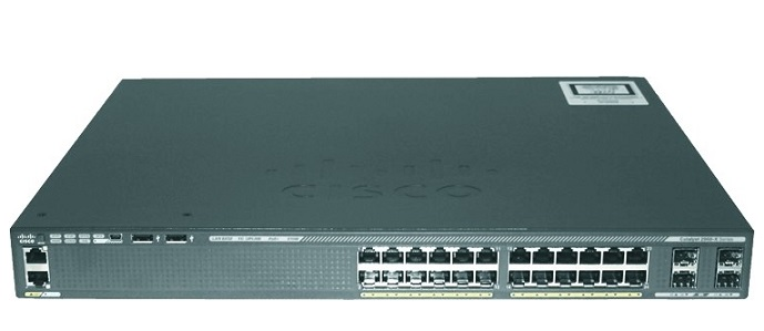 24-Port GigE Switch Cisco Catalyst WS-C2960X-24PS-L