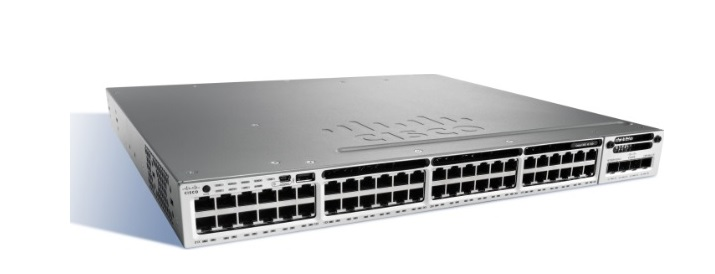 48-Port Ethernet UPoE Switch Cisco Catalyst WS-C3850-48F-L