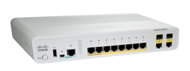 8-Port Fast Ethernet Switch Cisco Catalyst WS-C3560C-8PC-S