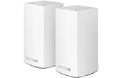 Thiết bị mạng LINKSYS | AC2600 Dual-Band Intelligent Mesh WiFi System LINKSYS WHW0102 (2 Pack)