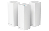 Thiết bị mạng LINKSYS | AC3900 Dual-Band Intelligent Mesh WiFi System LINKSYS WHW0103 (3 Pack)