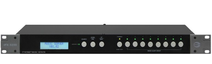 Hệ thống âm thanh IP Audio Server AMPERES iPX5200