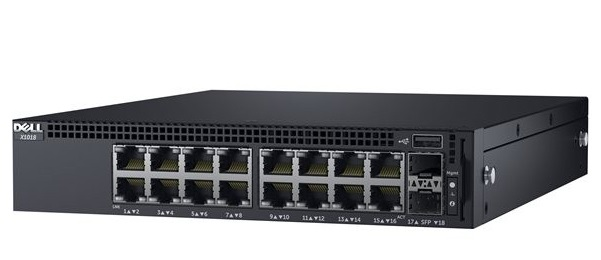 16-port Gigabit Managed Switch DELL X1018