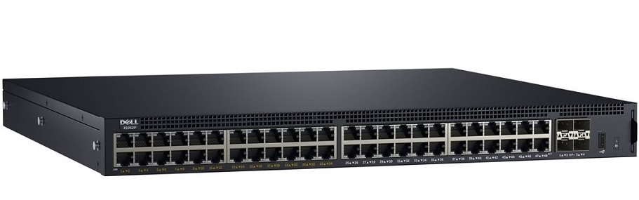 52-port Gigabit PoE Managed Switch DELL X1052P