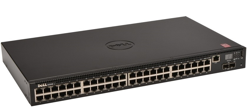 48-port Gigabit Managed Switch DELL N2048
