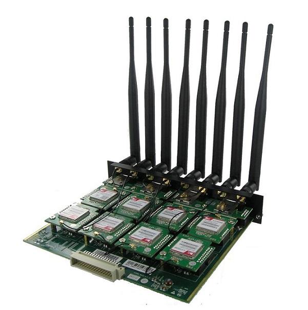 Card hỗ trợ 8 khe sim GSM Yeastar G8M