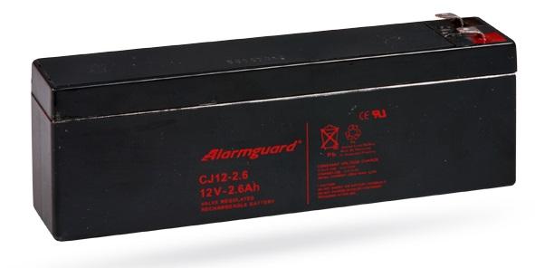 Ắc quy dự phòng cho bộ trung tâm 12V/ 2.6Ah JABLOTRON SA214-2.6