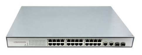24-port 10/100/1000Mbps PoE Switch BTON BT-6224GE-SFP