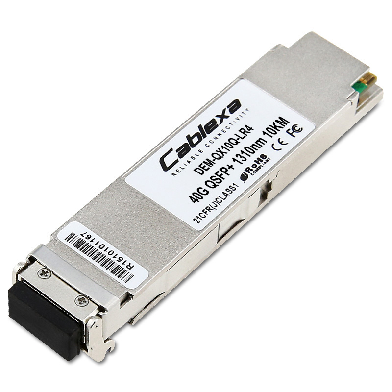 Transceiver 40G BASE-LR4 Single-mode, 10km QSFP+ D-Link DEM-QX10Q-LR4